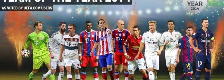 UEFA top eleven