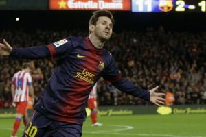 Pique Terkagum Melihat Gol Messi