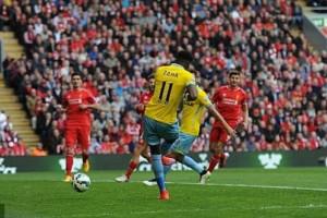 Skor 1-3, Liverpool vs Crystal Palace