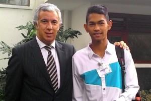 Anak Angkat Ronaldo Diundang Ke Portugal