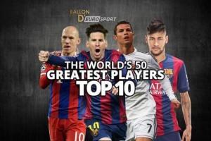Messi Sabet 'Ballon d'Or', Kalahkan CR7