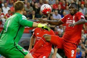 Benteke Berhasil Cetak Gol Perdana Untuk Liverpool