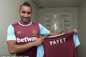 Pelatih West Ham Puji Performa Cemerlang Dimitri Payet