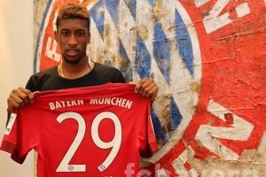 Coman: Vidal Membuat Saya Tak Ragu Datang ke Bayern