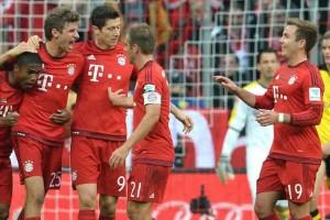 Bayern Hancurkan Dortmund 5-1