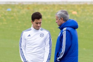 Jelang Laga Krusial, Mourinho dan Hazard Damai