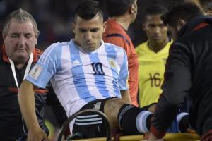 Kabar Tak Sedap Buat City, Aguero Cedera Kala Bela Argentina