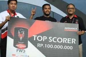 Top Skor Piala Presiden Ingin Kompetisi Dibawah PSSI