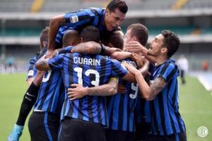 Bantai Frosinone Dengan Skore 4 - 0, Inter Tempati Puncak Klasmen