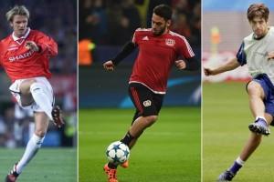 Beckham dan Juninho, Mentor Tendanan Bebas Calhanoglu