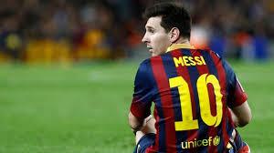 Messi dikabarkan absen Lebih lama