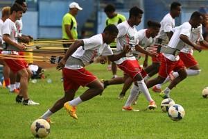 Skuad Persipura Mengfokuskan Untuk Latihan Teknik Dan Taktik