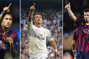Diantara Finalis Ballon d'Or, Ronaldo Menang Gol