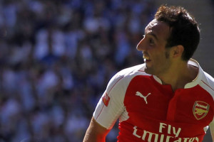 Santi Cazorla Menepi 3 Bulan, Arsenal Semakin Krisis