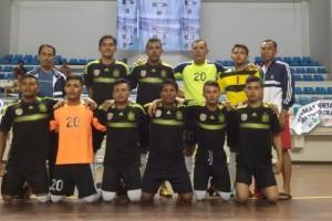 Dengan Diperkuat Oleh Striker Bali United, Tim Futsal Polda Bali Berhasil Juarai Peradi Cup 2016