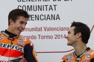 Honda Tetap Pertahankan Duet Marquez-Pedrosa