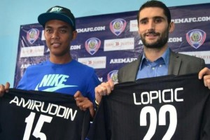 Srdan Lopicic Menolak Tawaran Klub Malaysia Demi Arema Cronus