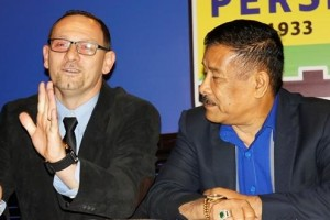 Skuad Persib Bandung Menjamu Klub Asal Bali Di Stadion Siliwangi