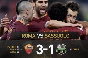 AS Roma vs Sassuolo