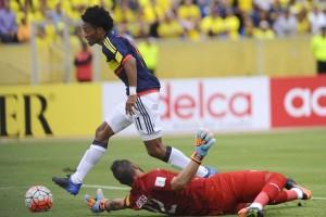 Ekuador vs Kolombia