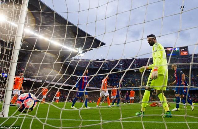 Gol Andre Gomes - Barcelona