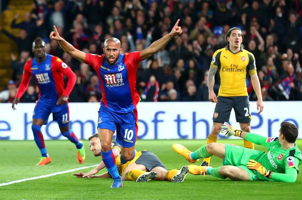Gol Andros Townsend - Crystal Palace