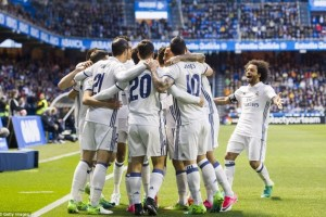 Deportivo La Coruna vs Real Madrid