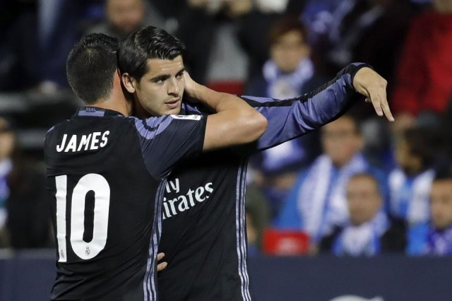 James Rodriguez - Alvaro Morata