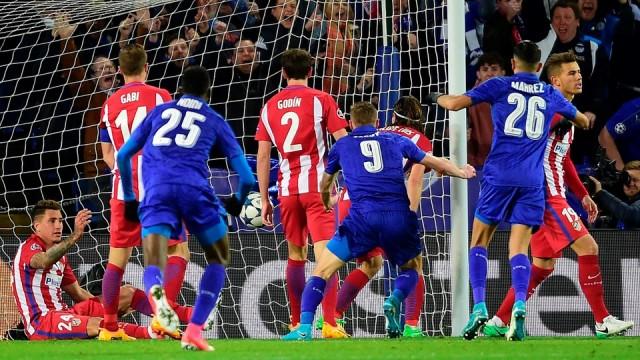 Gol Jamie Vardy - Leicester City