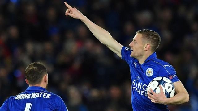 Selebrasi Jamie Vardy - Leicester City