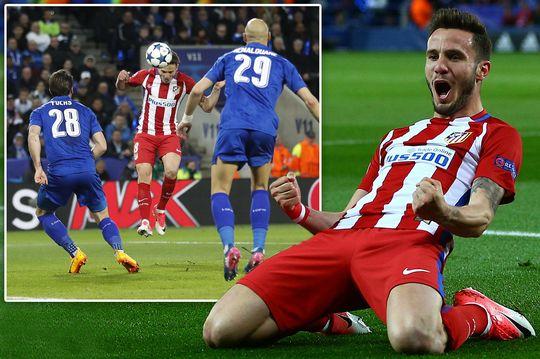 Gol dan Selebrasi Saul Niguez - Atletico Madrid