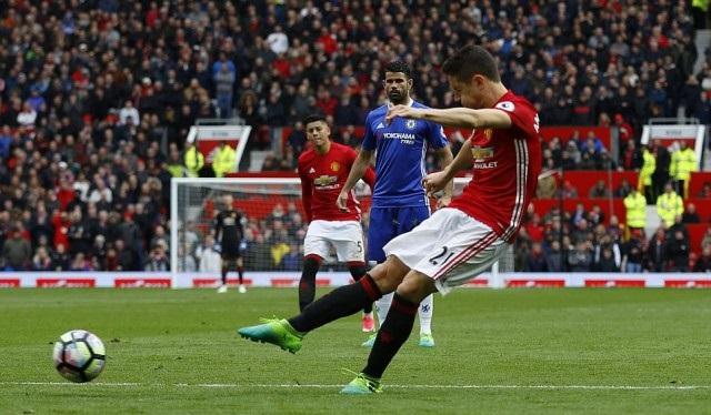 Gol Ander Herrera - Manchester United