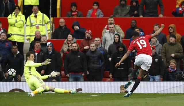 Gol Marcus Rashford - Manchester United