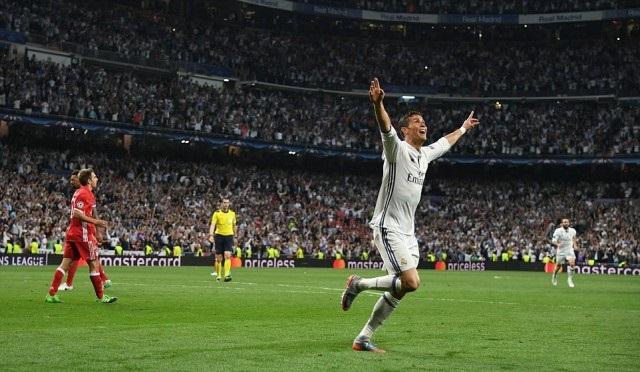 Selebrasi Gol Cristiano Ronaldo - Real Madrid