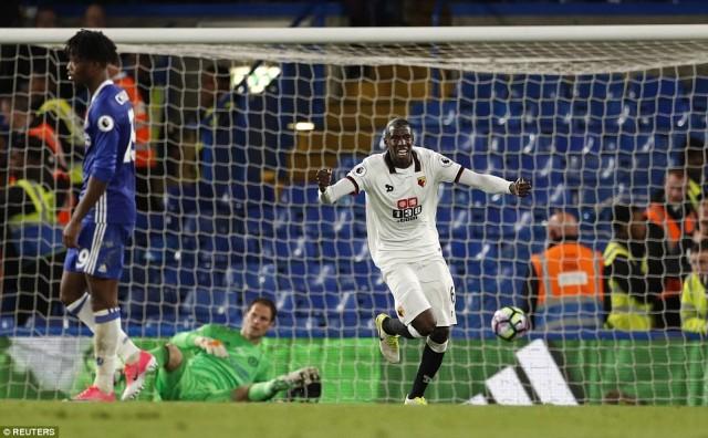 Gol Stefano Okaka - Watford