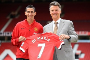 Angel Di Maria - Louis Van Gaal