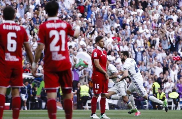 Gol Nacho Fernandez - Real Madrid
