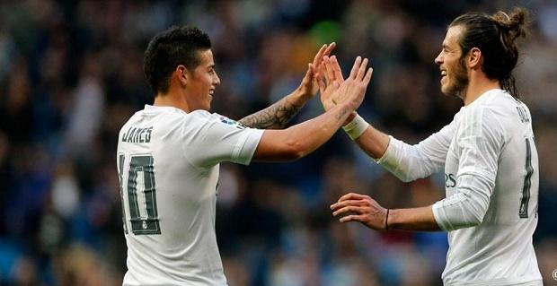 James Rodriguez - Gareth Bale